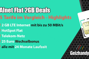 Allnet Flat 2GB Deals
