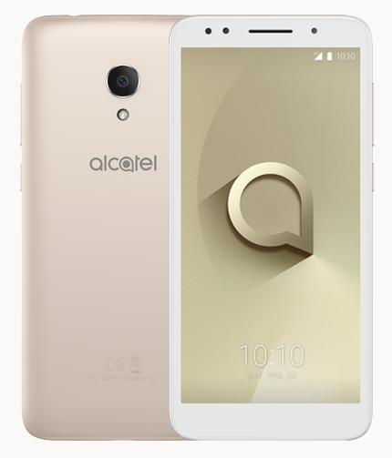 Alcatel 1X - Gold Soft Touch