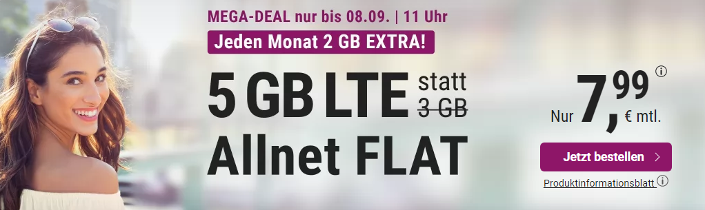 5 GB Allnet Flat Deal